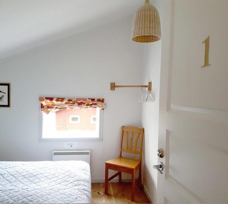Samtliga sovrum är på ovanvåningen